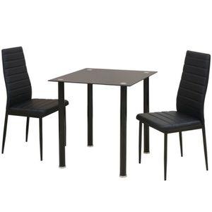 CHAISE 1 table et 2 chaises Ensemble de table et chaise d