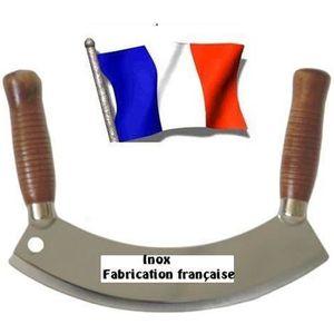MANDOLINE DE CUISINE Couteau hachoir berceuse professionnel inox France