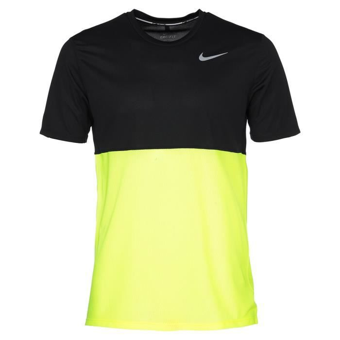 nike t shirt sport running racer homme prix pas cher soldes d s le 10 janvier cdiscount. Black Bedroom Furniture Sets. Home Design Ideas