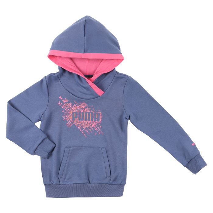 puma sweat shirt enfant fille violet et rose achat vente d coration agr s gym cdiscount. Black Bedroom Furniture Sets. Home Design Ideas