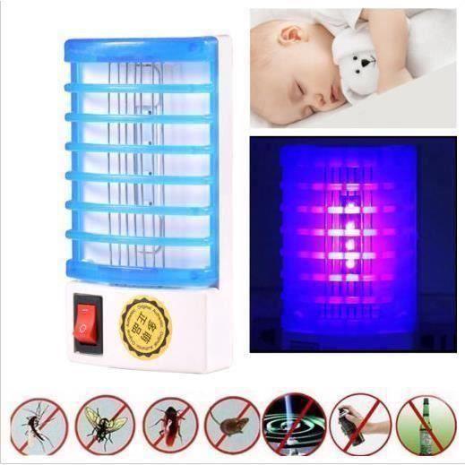 Lampe Anti-Insecte électrique - Lampe Anti Moustique volants