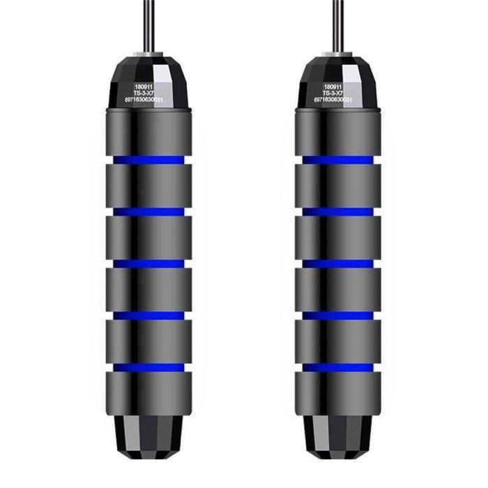 Corde à sauter sans enchevêtrement avec roulements à billes Rapids Speed Jump Rope Cable et 6 hrb1133