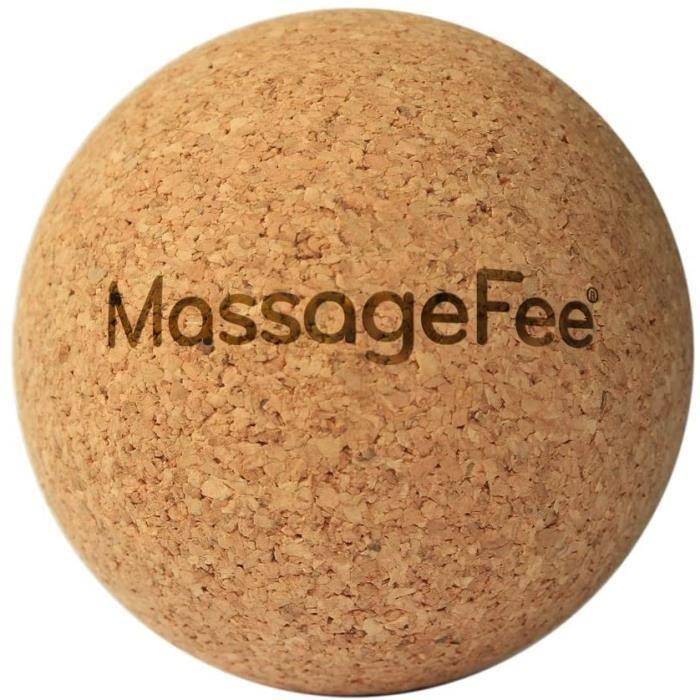 Accessoires de massage manuel Balle de massage en liège – Boule d'automassage des fascias TriggerFairy®. Appareil nature 178809