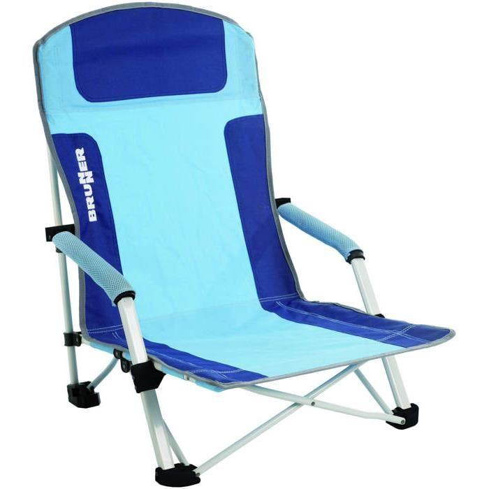 Chaise de plage Brunner Bula Bleue