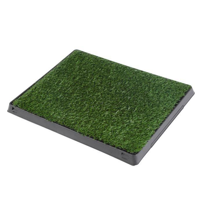 Tapis de pot alèse animaux Pet parc chien pot d'intérieur Grass Mat formation Pad pot toilette HB006-FOE