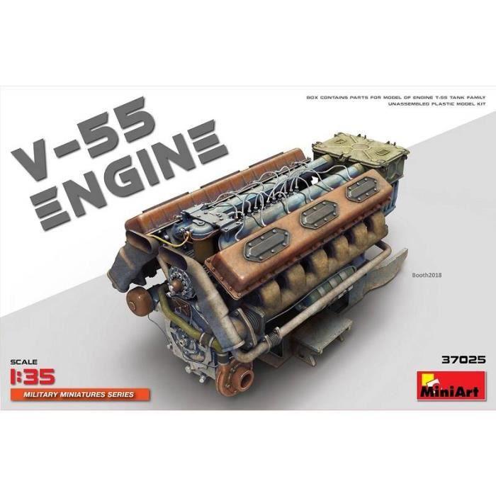 V-55 Engine - Accessoire Maquette - MiniArt