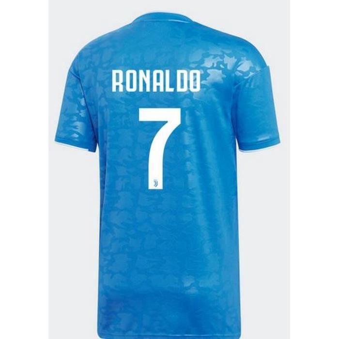 Maillot Enfant Adidas Juventus de Turin Third Saison 2019-2020 Flocage Officiel Ronaldo Numéro 7