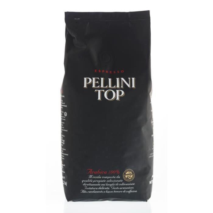 Pellini TOP 100% Arabica, 1kg, grains de café