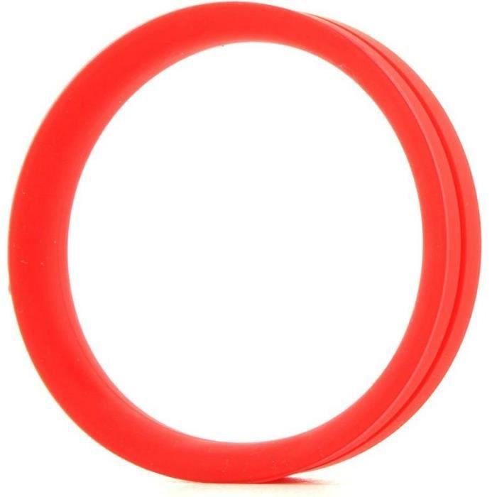 Disfruta de duraderas erecciones con el anillo para pene y testículos Ringo Pro XXL. Este anillo de base ancha, está fabricado con