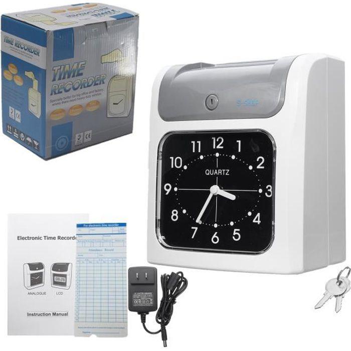 TEMPSA Electronique Pointeuse Badgeuse Horloge Gestion Temps de Assistance Enregistreur Pour employés