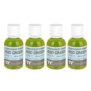 Thermaltake Concentrate Acid Green (Uv) Liquide concentré de refroidissement 4 flacons Vert acide fluo