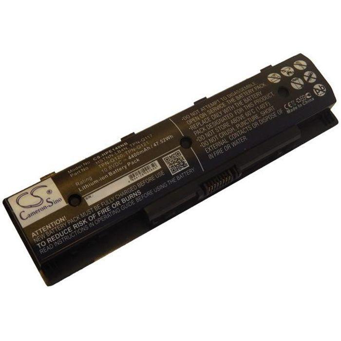 1 x Batterie de remplacement pour ordinateur portable, Notebook HP Envy, Touchsmart, Pavillon et autres. - Remplace: HSTNN-LB4N,...