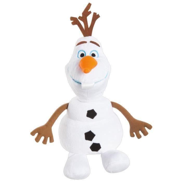 LA REINE DES NEIGES Doudou Olaf lumineux et Veilleuse 2-en-1 GoGlow OLAF - Worlds Apart