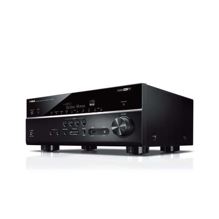 YAMAHA MusicCast RX-V 685 BL Ampli-tuner Home-Cinéma 7.2 - 7 x 80 W - Wi-Fi - Airplay2 - Bluetooth - 5 entrées HDMI et 2 sorties -