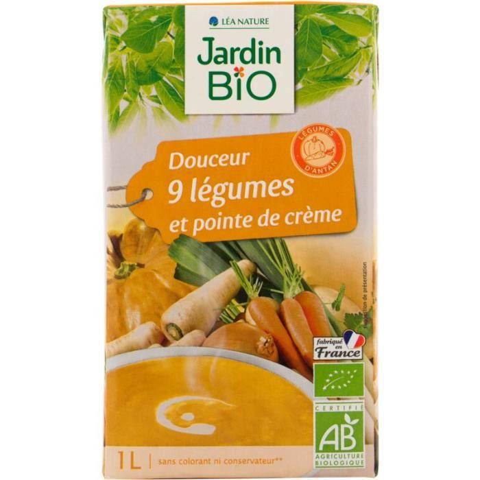 Velouté douceur 9 légumes bio - 1L