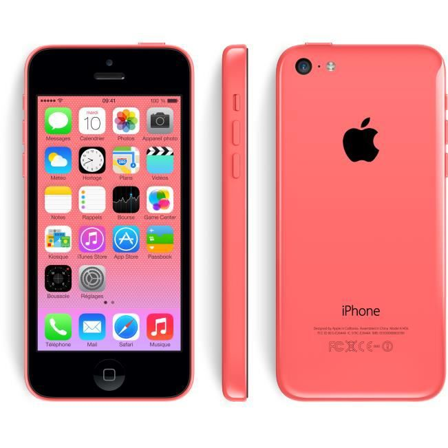 apple iphone 5c rose 8go achat smartphone pas cher avis. Black Bedroom Furniture Sets. Home Design Ideas
