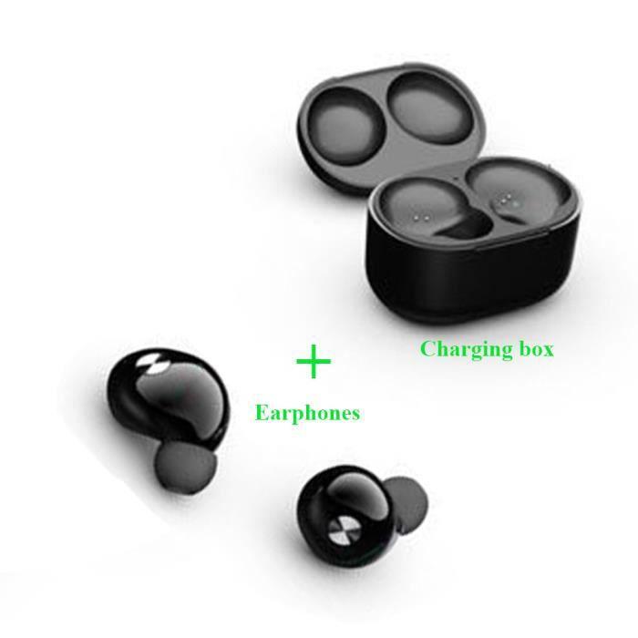 CASQUE - ÉCOUTEURS Nouvelle arrivee Bluetooth casque mini jumeaux eco