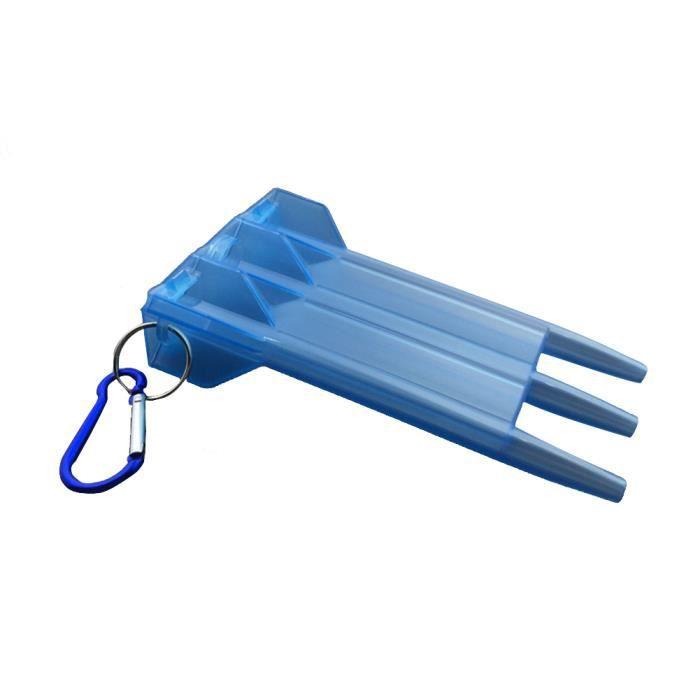 ACCESSOIRE FLÉCHETTE Portable Dart Box transparent en nylon plastique o