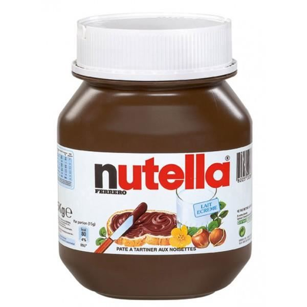 gros pot de nutella 10 kg. Black Bedroom Furniture Sets. Home Design Ideas