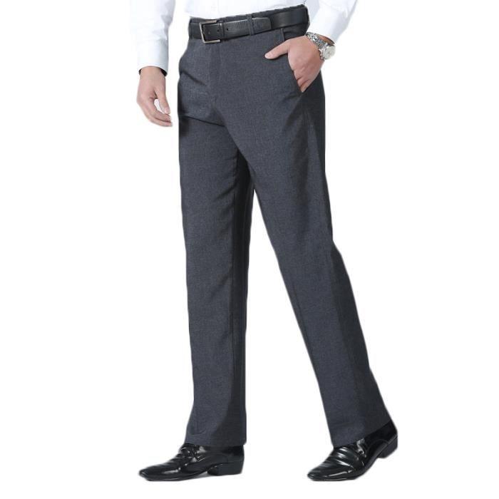 pantalon homme taille haute