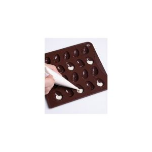 Moule silicone oeufs achat vente moule silicone oeufs pas cher cdiscount - Chocolat paques pas cher ...