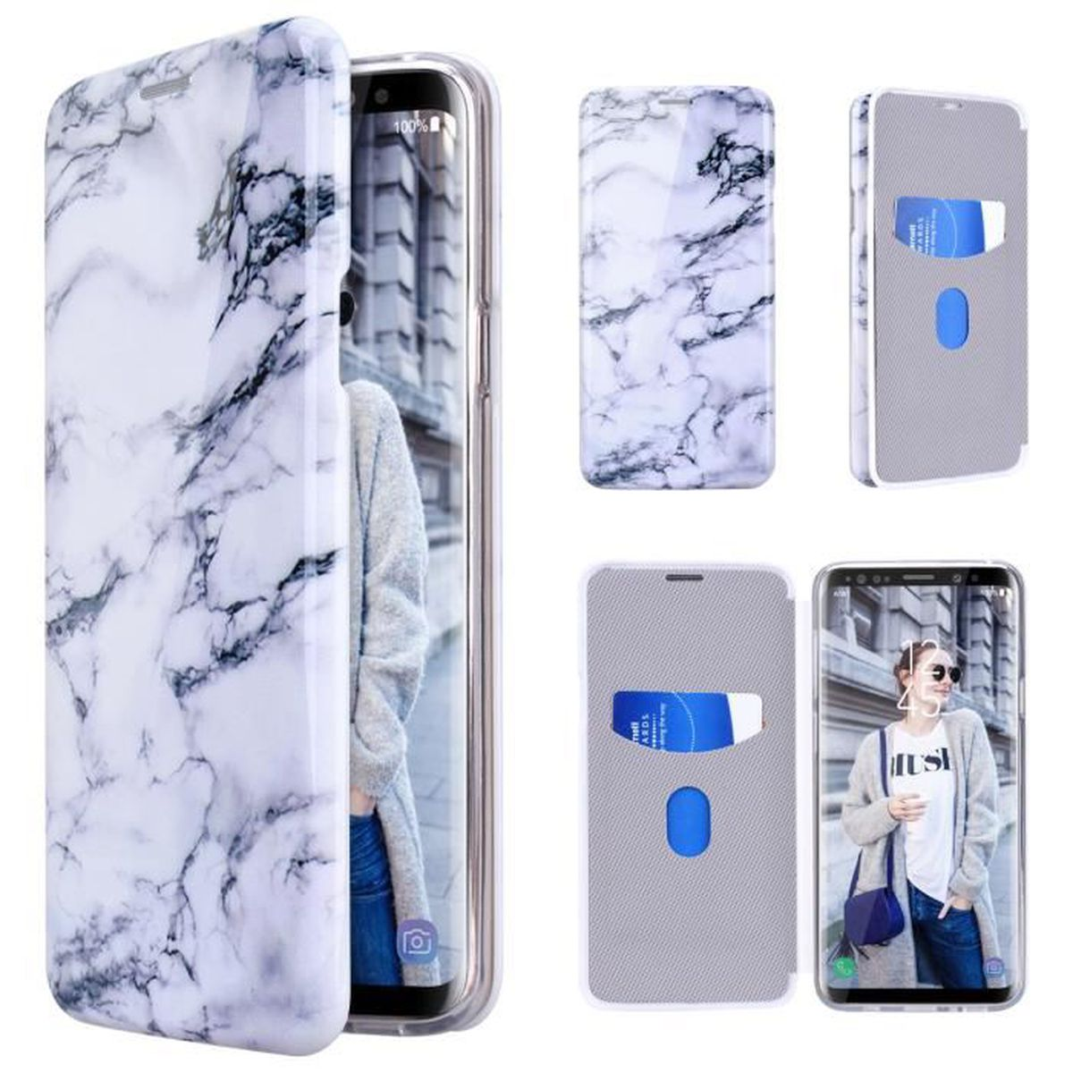 coque galaxy s9 marbre