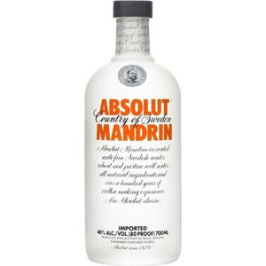 VODKA Absolut Mandarine - Vodka - 40° - 70 cl