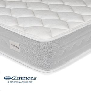 matelas a ressorts 160 200 simmons achat vente matelas a ressorts 160 200 simmons pas cher. Black Bedroom Furniture Sets. Home Design Ideas