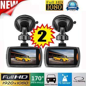 BOITE NOIRE VIDÉO 2 x voiture 1080P 2,2 Full HD DVR caméra véhicule