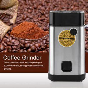 COMBINÉ EXPRESSO CAFETIÈRE Mini Fabricant d'herbes haricot moulin à café élec