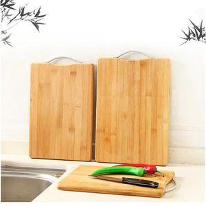 PLANCHE A DÉCOUPER Planche à découper de cuisine rectangulaire en bam