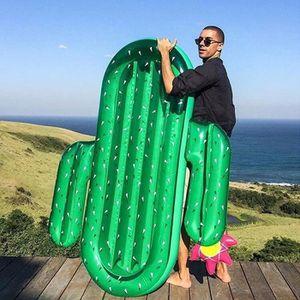 Géant Gonflable Cactus eau Flotteur radeau Summer Sea Swim Piscine Chaise Longue Plage nouveau