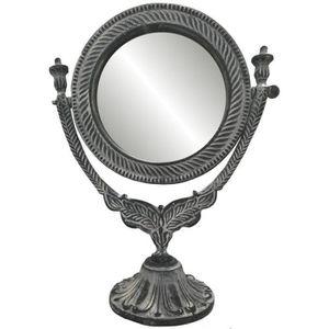 MIROIR Miroir Psyché à Poser sur Pied en Fonte d'Aluminiu