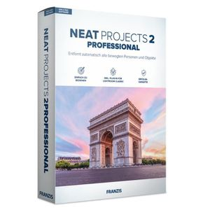 MULTIMÉDIA Franzis NEAT projects 2 professional, Allemand, 1