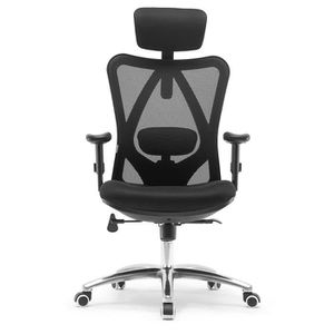CHAISE DE BUREAU SIHOO Chaise de Bureau Ergonomique, Fauteuil de Pi