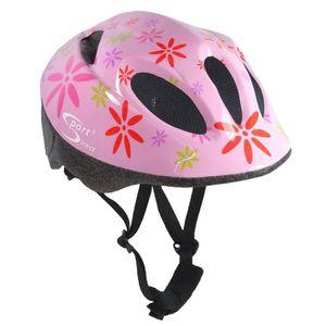 CASQUE DE VÉLO Sport Direct casque vélo enfant filles rose 48-52