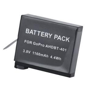 BATTERIE APPAREIL PHOTO Remplacement AHDBT-401 3.8V 1160mAh Batterie Li-io