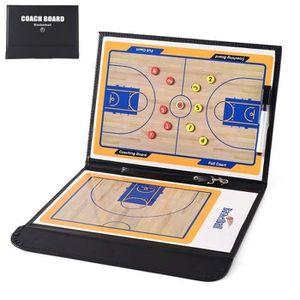 TABLEAU DE COACHING Basketball Tableau Tactique Coach Magnétique Strat