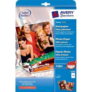 PAPIER PHOTO Avery Zweckform 2570 Paquet de 10 feuilles de p…