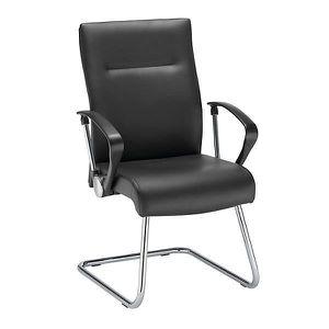 CHAISE DE BUREAU Fauteuil visiteur - noir - cuir - fauteuil siège s