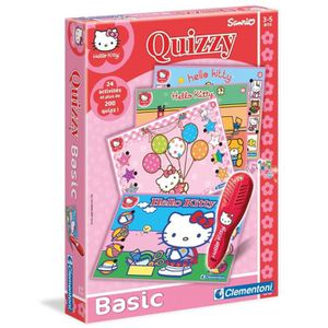 QUESTIONS - REPONSES HELLO KITTY Quizzy Clementoni