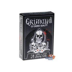 CARTES DE JEU DeathGame - Grimaud - jeu de 54 cartes toilées pla