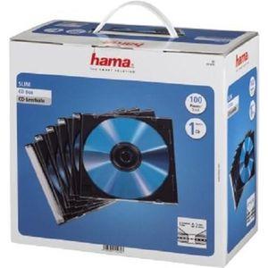 RANGEMENT CD-DVD HAMA 00051270 Boîtier CD