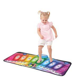 INSTRUMENT DE MUSIQUE Enfants Alimenté par batterie tapis de jeu tactile