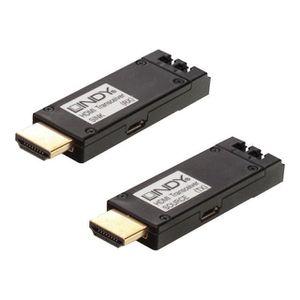 CÂBLE TV - VIDÉO - SON Kit extender HDMI 4K sur fibre optique jusqu'à 300