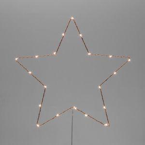 métal pile leuchtstern DEL étoile D 20 cm pour pendre