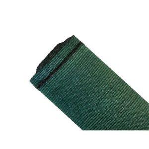 CLÔTURE - GRILLAGE Brise-vue 90% - Vert-noir - 185g-m² - Sans boutonn