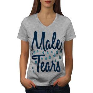 T-Shirt Femme sans Manches Blanc TR0156 WE Can DO IT Rosie Riveter Vintage Feminist Retro WW2