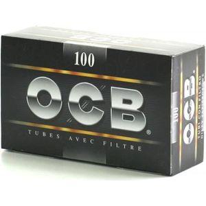 TUBE À CIGARETTE Boite 100 Tubes - OCB