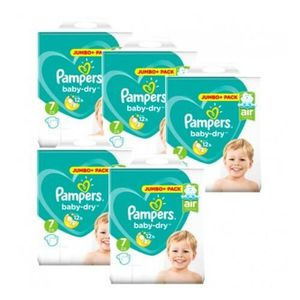 COUCHE 63 Couches Pampers Baby Dry taille 7